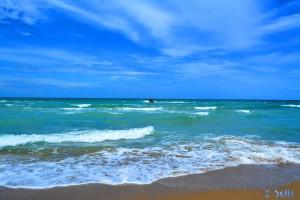 Strand 10km vor Termoli – ein Traum!!!