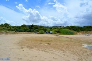 Stellplatz direkt am Strand kurz vor Termoli