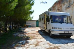 Camper-Area in Vieste