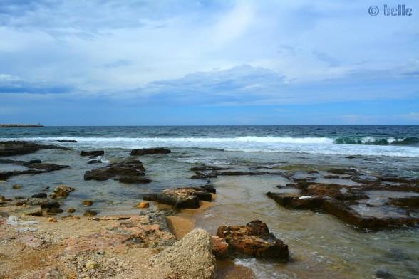 Coast of Mola di Bari