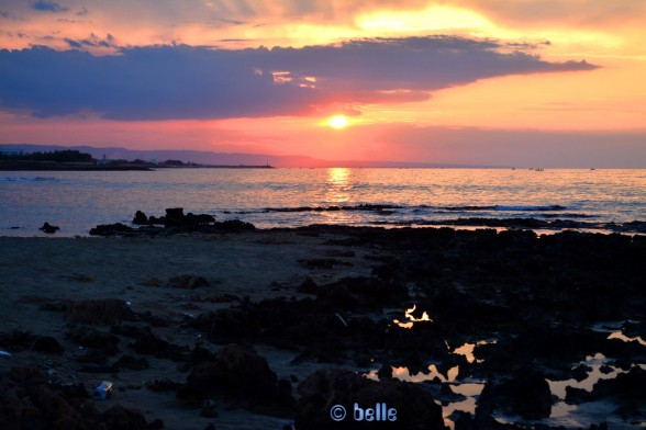 Sunset in Vilanova