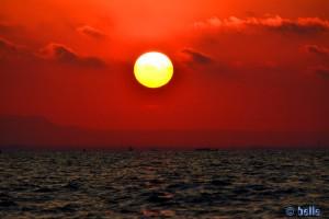 Sunset in Villanova