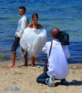 Hochzeit am Strand von Villanova