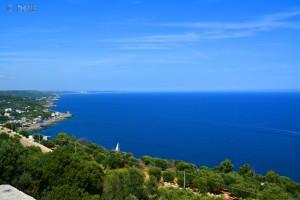 Aussicht vom Torre D'Andrano