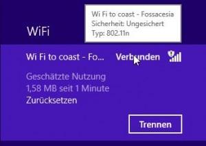 WiFi to coast – Fossacesia 300MB am Tag.