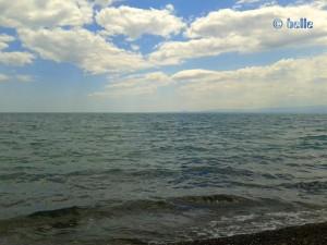 Sonne-Wolken-Mix am Strand von Trebisacce