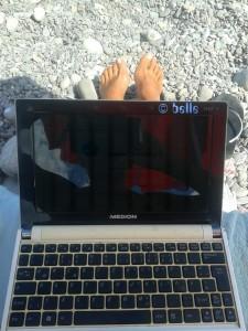 """Das """"mobile Office"""" von CampingCar ♥ - überall einsatzbereit!"""