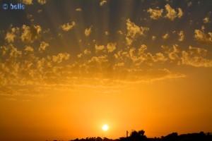 Sunset in Santa Monica – 19:16 und 34 Sekunden