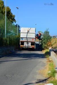 Die Müllabfuhr bei der Arbeit :o