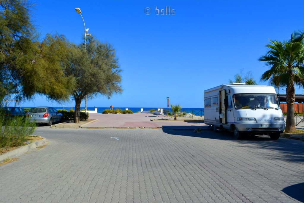 Parking at the Beach of Locri