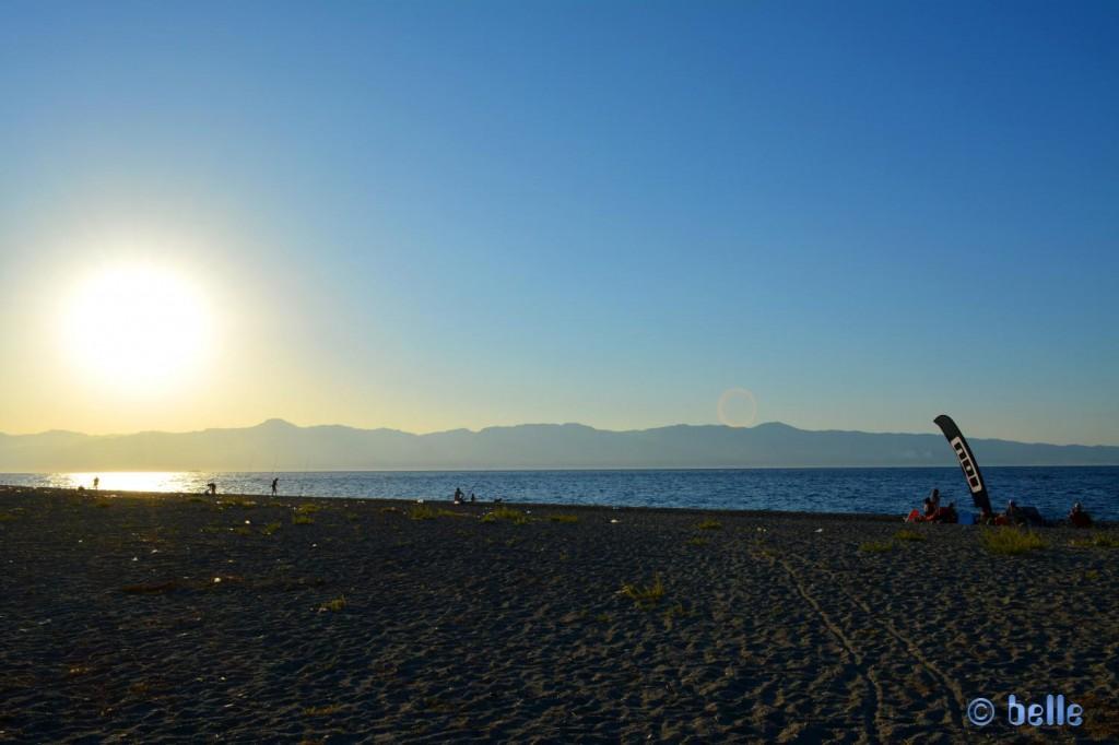 Pellaro - View to Sicily