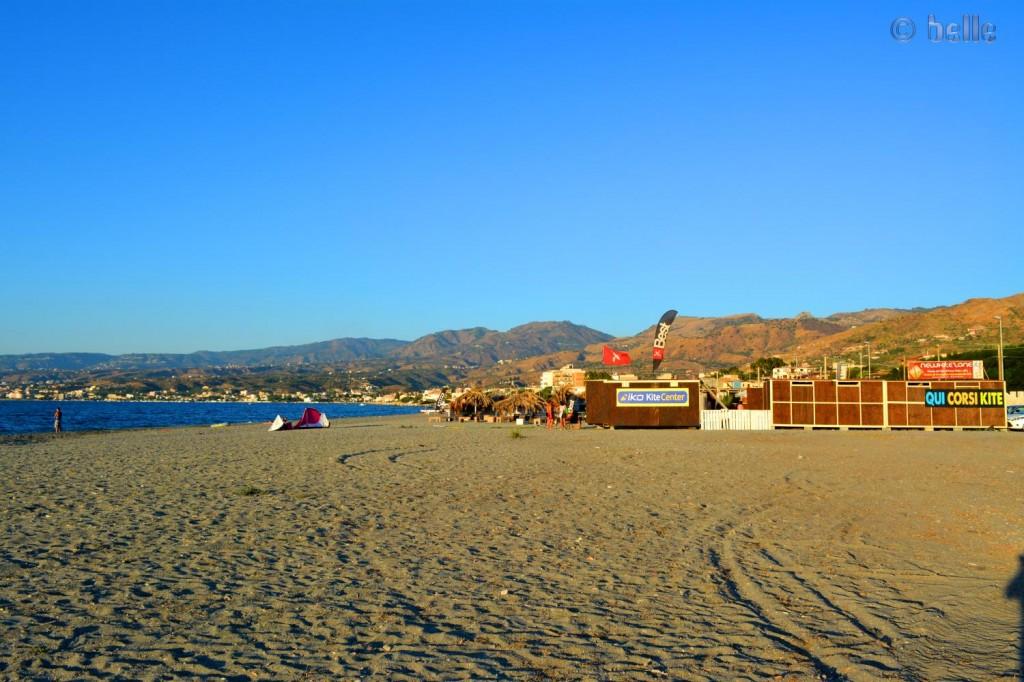 Kiter-Strand Punta Pellaro