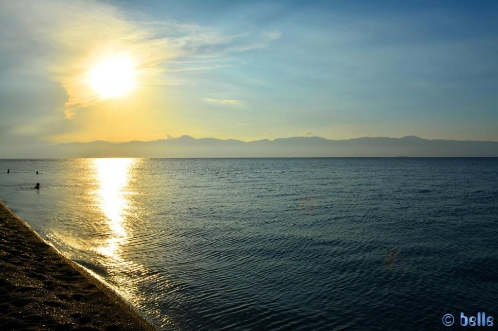 Aufgenommen um 18:31 Uhr am Strand von Pellaro