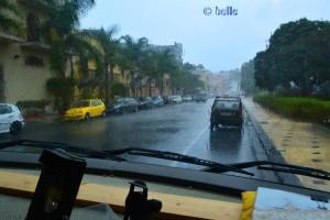 Heftiger Regen in Milazzo