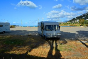 Parking at the Porto of San Gregorio