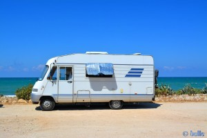 Parking directly on the Beach of Alcamo Marina – Golfo di Castellammare