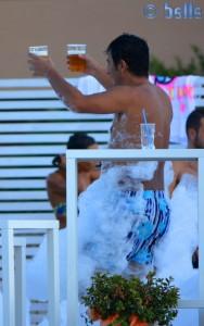 Schaum-Party in Alcamo Marina