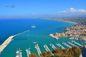 Panorama-View to Castellammare and Alcamo Marina
