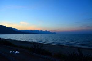 Sunset at the Beach of Alcamo Marina - Golfo di Castellammare