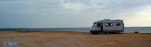 Parking at the Beach of Marsala