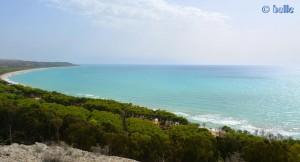 Veiw to Eraclea Minoa AG, Italien