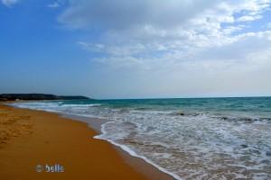 Beach of Eraclea Minoa AG, Italien