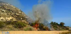 Feuer bei Mollarella