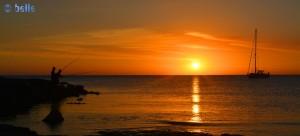 Sunset in Marina di Modica - Punta Regilione