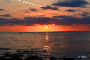 Sunset at Marina di Modica - Punta Regilione
