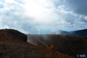 Interessantes Licht am Etna / Ätna