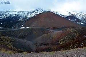 Etna / Ätna hüllt sich in Wolken