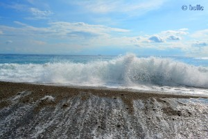 Waves at the Beach of San Marco