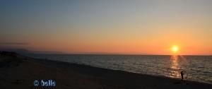 Sunset in Nicotera Marina