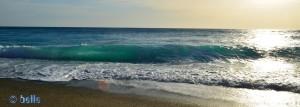 Waves at the Beach of Cetraro Marina