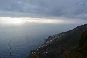View from Furore 580 Meter über dem Meeresspiegel