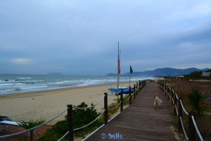 Beach of Sperlonga - Lago Lungo