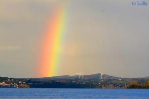 Rainbow at Lago di Bolsena