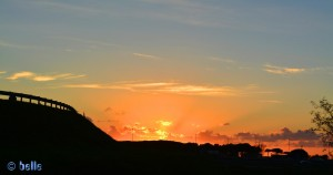 Sunset in Albinia