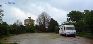 "Parking short in Front of Portovenere - ""NO CAMPER"" in Portovenere..."