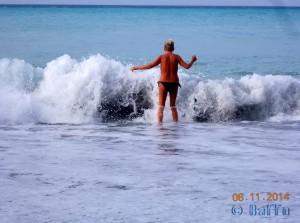 Mein Kampf mit den Wellen