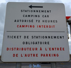 France - Languedoc-Roussillon - Sète - Area Sosta Camper – Parking on the left