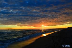 Sunset in Castelldefels – 16:59 Uhr