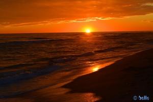 Sunset in Castelldefels – 17:22 Uhr