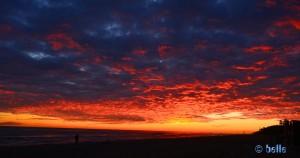 Sunset in Castelldefels – 17:35 Uhr
