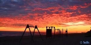 Sunset in Castelldefels – 17:36 Uhr