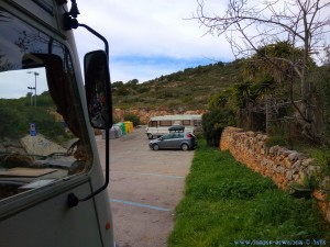 Parking in Sitges – Spain – March 2018