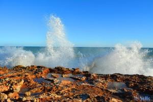 Atemberaubende Wellen an der Küste - Parc Natural de la Serra D'Irta - Duna del Pebret