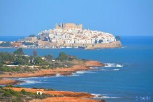 Peniscola – Aussicht vom Torre Abadum