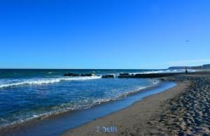 "Beach of Alicante ""Agua Amarga Playa"" - View to Los Arenal del Sol"
