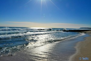 Beach of Alicante - View to Los Arenal del Sol